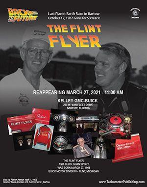 Reappearing 10/27/2021 11:00 AM. Kelly GMC-BUICK 255 W. Van Fleet Dr Bartow, Florida. The Flint flyer 1966 Buick Gran Sport was Born 10/27/1966 Buick Motor Division - Flint, Michigan. Sold To Robery Alman April 7, 1966.